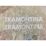 Logo Tramontina Blanco Vinilo - Temporada 2013-14