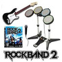 :: Rock Band Play Station 3 Ps3 + Guitar Hero Wolrd Tour ::