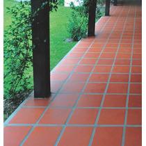 Baldosa Ceramica Roja,terraza,patio,interior,exter 20x20 Mp
