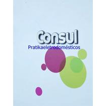 Logotipo Adesivo Consul Alto Relevo Original M.pago