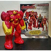 Boneco Homem De Ferro Hulk Buster 25 Cm Som E Luz Caça Hulk