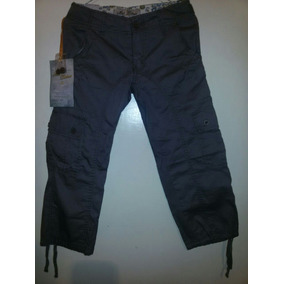 Pantalon Para Niña. A Media Pierna Talla 7