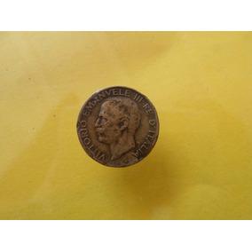 Moneda Antigua 5 Centavos 1921 Italia Bonita!!!