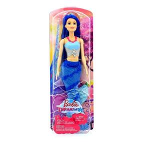 Muñeca Barbie Sirena Dreamtopia Fvt33 Mattel