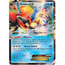 Pokemon Tcg -keldeo Ex #49 - Boundaries Crossed