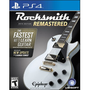 Rocksmith 2014 Edition Remastered W/cable - Ps4