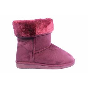 Botas Mujer Pantubotas Pelo Piel Zapatos Invierno Tops