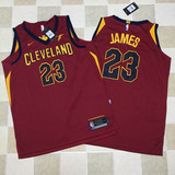 Cleveland Cavaliers Lebron James Jersey Nba - Bordada 100%