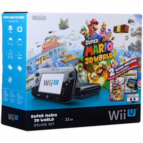 Nintendo Wii U 32gb Super Mario 3d World Deluxe - 32gb - Nfe
