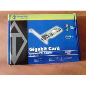 Tarjeta De Red Pci Gigabit 10/100/1000 Advantek