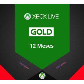 Membresía Xbox Live Gold 12 Meses Xbox One 360 Mas Ea Access