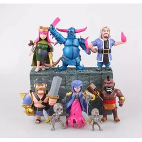 Clash Of Clans Kit Com 8 Personagens Clash Royale
