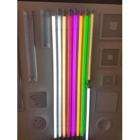Lâmpada Led Tubular Colorida 18w 120cm Várias Cores