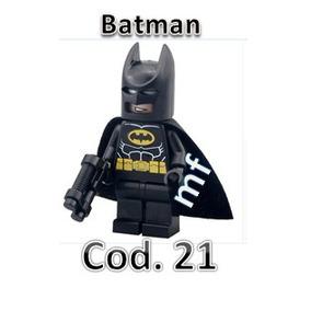 Bloco De Montar Batman(roupa Preta),compatível Ao Lego
