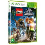 Jogo Lego Jurassic World - Xbox 360 (mídia Física)