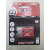Bateria 9v Keyko (cuadrada)