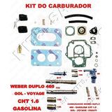 Kit Carburador Weber 460 Gol/voyage 91/...1.6 Cht Gasolina
