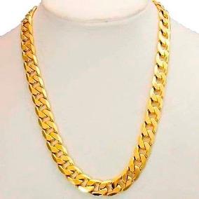 Cadena Barbada De Oro Macizo 14k 60cm. Pesa 40grs Solid Gold