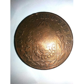 Moeda De Cobre De 40 Réis De 1832