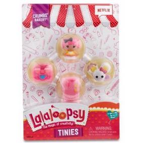 Lalaloopsy Tinies Serie 5 Crumbs Bakery 4 Pack Nuevo