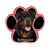 Rottweiler Dog Paw Non-slip Mousepad
