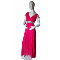 Vestido De Fiesta Largo Coral Talla Ch M G Envío Gratis