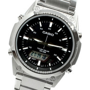 Reloj Hombre Casio Cod: Amw-s820d-1a Solar Joyeria Esponda