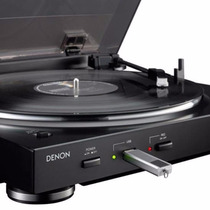 Vitrola Toca Disco Denon Dp200 Usb Dp 200-disco De Vinil