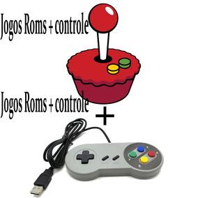 Jogos Roms + Controle Snes Recalbox Retropie Emulador Mame