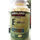 Vitamina E 400 Iu Kirkland 500 Pastillas Blandas 100 Soles