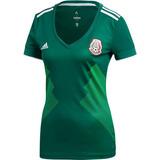 Jersey Playera Mexico Mundial Rusia 2018 Dama 100% Autentica