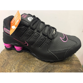 a16eea5c1f5 ... Tenis Nike Shox Nz 4 Molas Pretorosa Bb Original Feminino ...