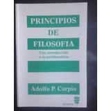 Principios De Filosofia - Adolfo P. Carpio - Glauco