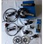 Kit Shimano Deore Slx 20 Ou 30v Freio Hidraulico - Hollowtec