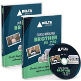 Curso Dvd Máquina Brother Pe770 - Volume 1 E Volume 2