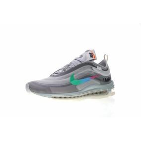 Zapatillas Nike Air Max 97 X Off White Green/grey A Pedido