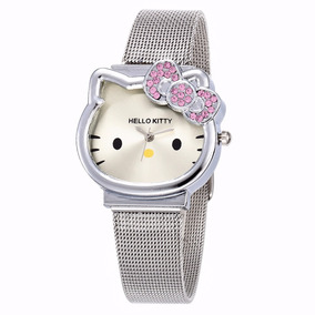 Reloj Hello Kitty Metálico