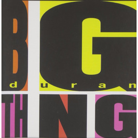 Duran Duran Big Thing Limited Ed. Cd Doble + Dvd Nuevo Imp