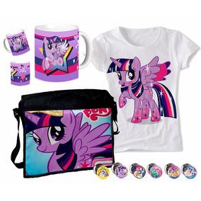 Set De Morral + Remera Twilight Pony + Taza + Pines