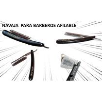 Navaja Tradicional Barbero Para Afeitar * Afilable