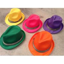 Pack X 10 Sombrero Guapo Tanguero De Colores Eco Tango