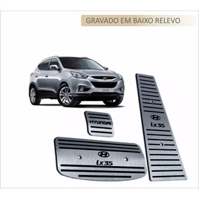 Pedaleira Aço Inox Premium Hyundai Ix 35 !!!