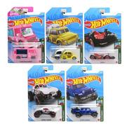Kit Carrinhos Hot Wheels Veículos Básicos Com 5 Mattel