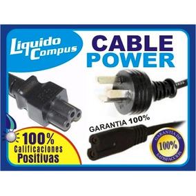 Cable Power Alimentación 220v Tipo Trebol Nacional Nuevos!!!