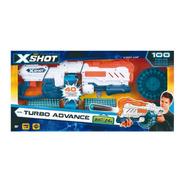 Pistola Turbo Lanza Dardos X-shot Con 96 Dardos 24 Metros