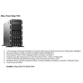 Sevidor Dell Power Edge T430