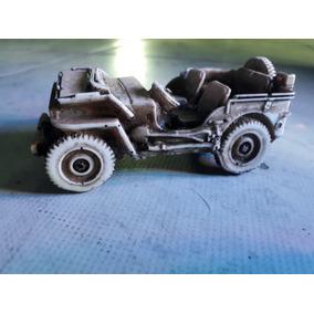 Miniatura Jeep Willys Militar 1942 - Envelhecida- Exclusivas