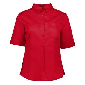 Uniforme Camisa Caballero Y Blusa Dama Gabardina