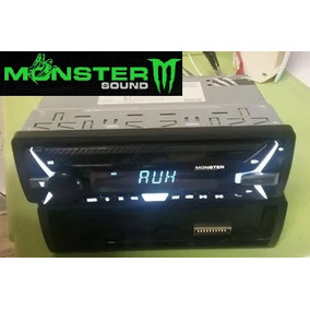 Estereo Monster X-1000 Usb/sd/am/fm/mp3/bluet