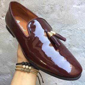 c1b4d0456ea Zapatos Ferragamo De Charol Hombre - Mocasines y Náuticos Violeta ...
